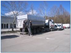 montaza ponjave na tovornjak